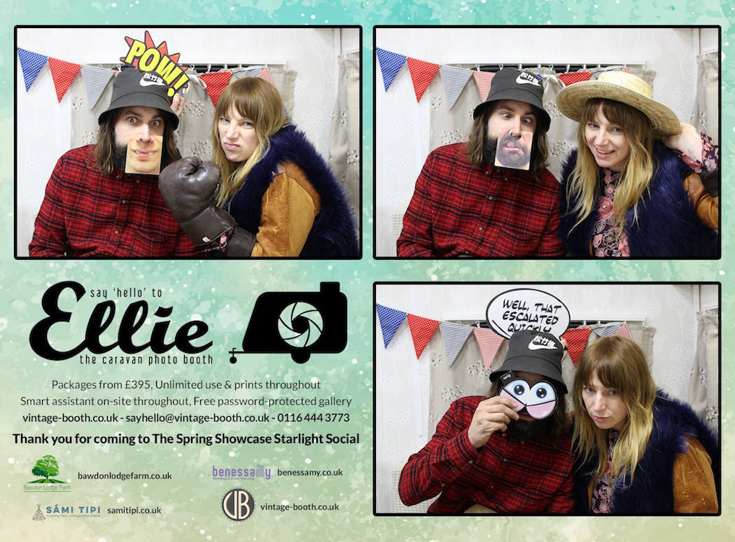 Vintage Photo Booth Sami Tipi Showcase 2016 7