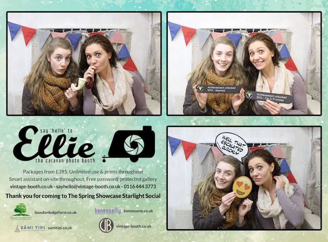 Vintage Photo Booth Sami Tipi Showcase 2016 8