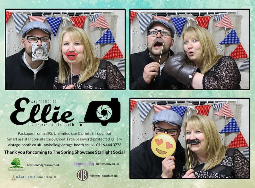 Vintage Photo Booth Sami Tipi Showcase 2016 9