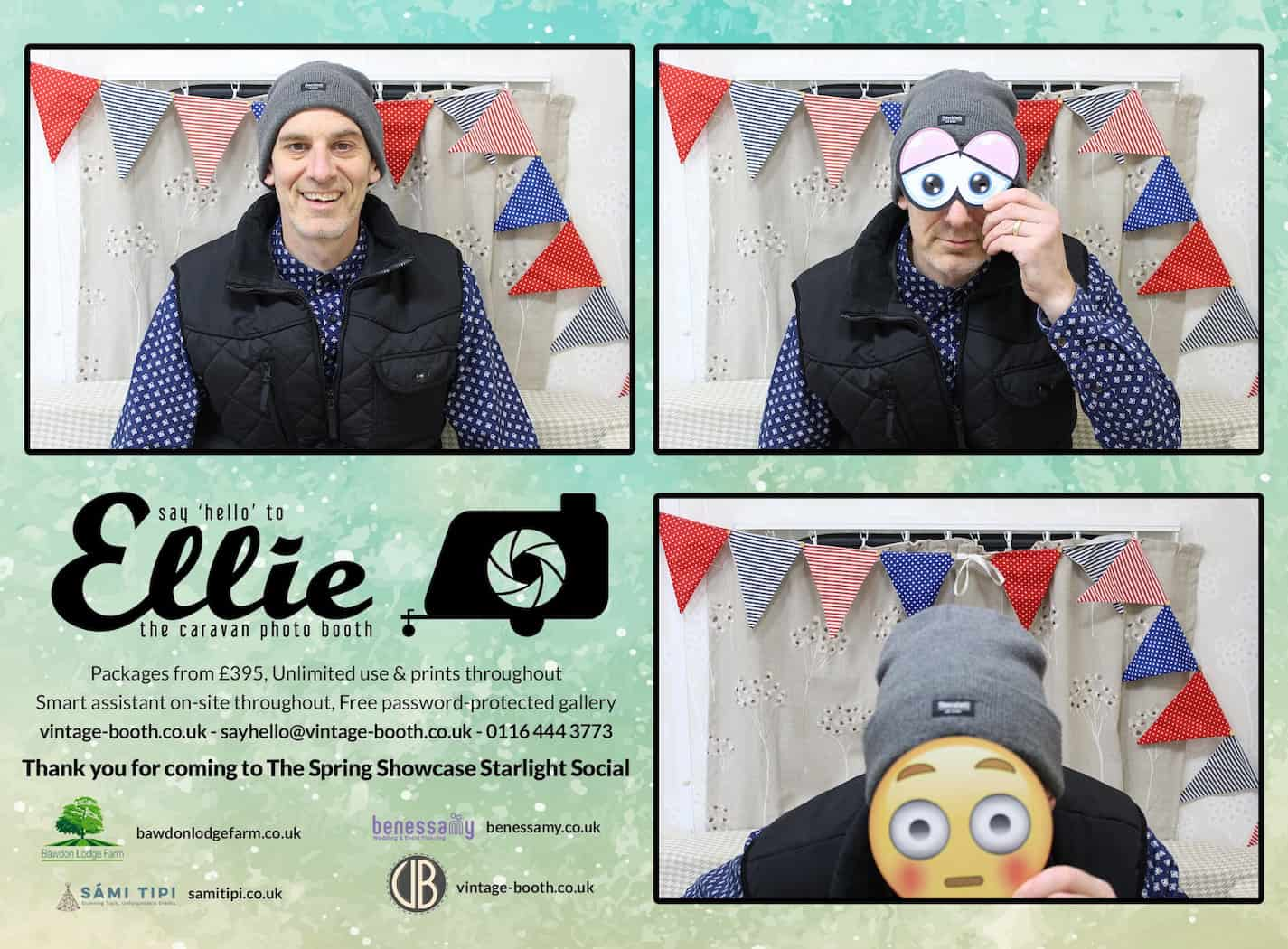 Vintage Photo Booth Sami Tipi Showcase 20161