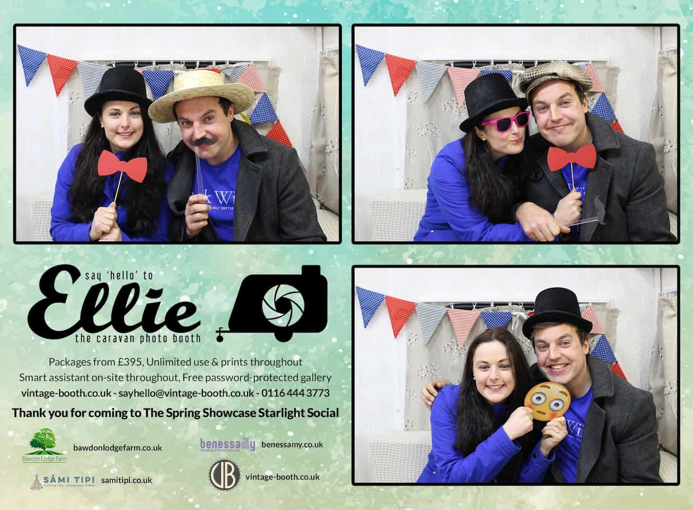 Vintage Photo Booth Sami Tipi Showcase 20165