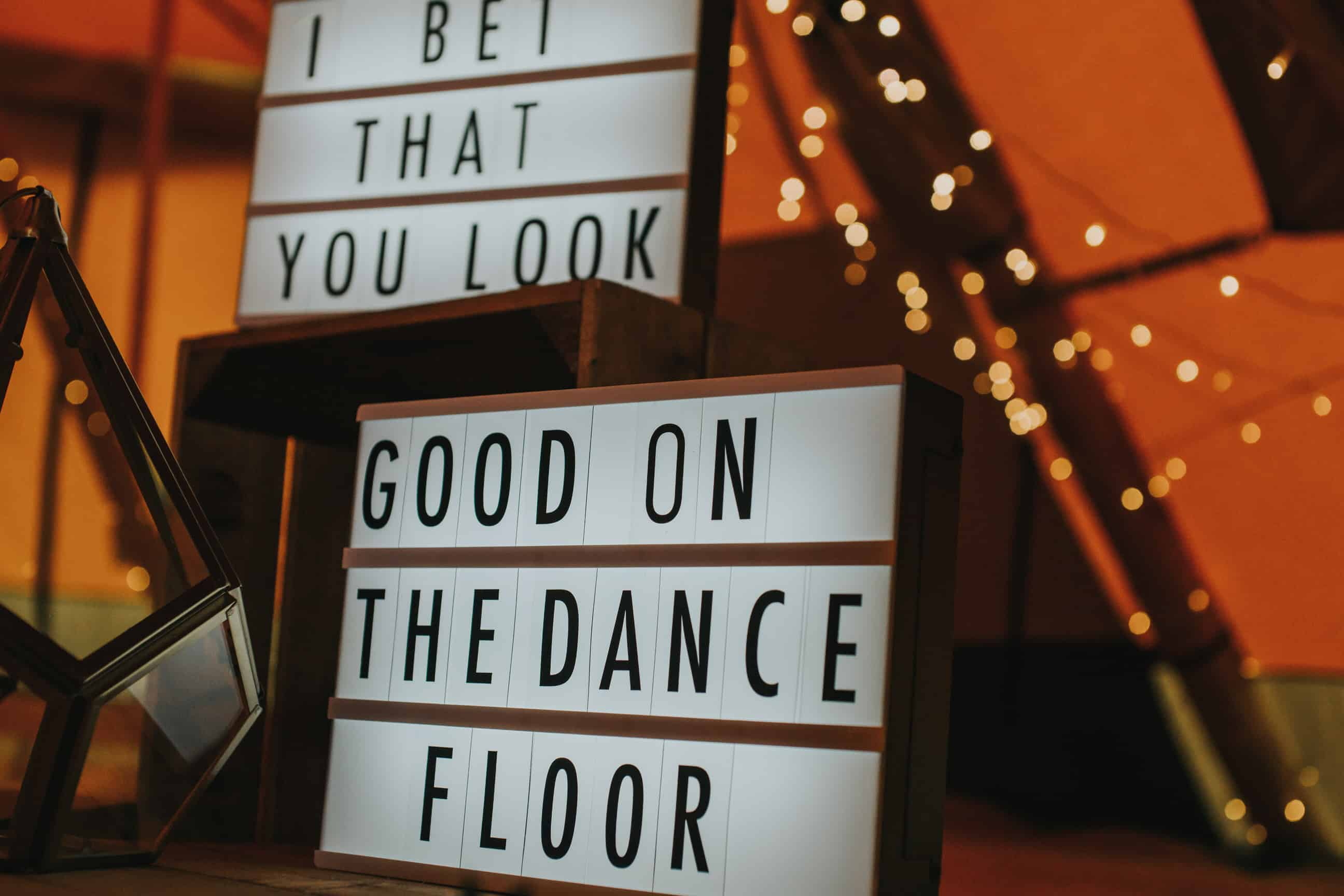 """Light box """"I bet you look good on the dance floor"""" - by Sami Tipi captured by Ed Brown Photography"""