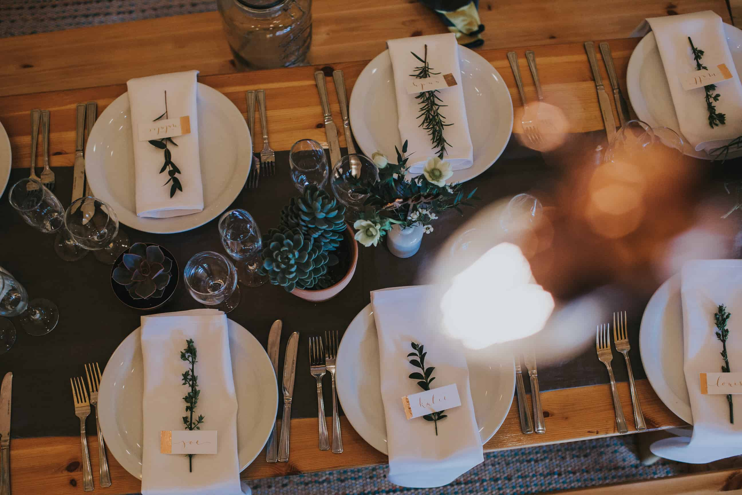 Tipi Table Scape by Sami Tipi captured by Ed Brown Photography