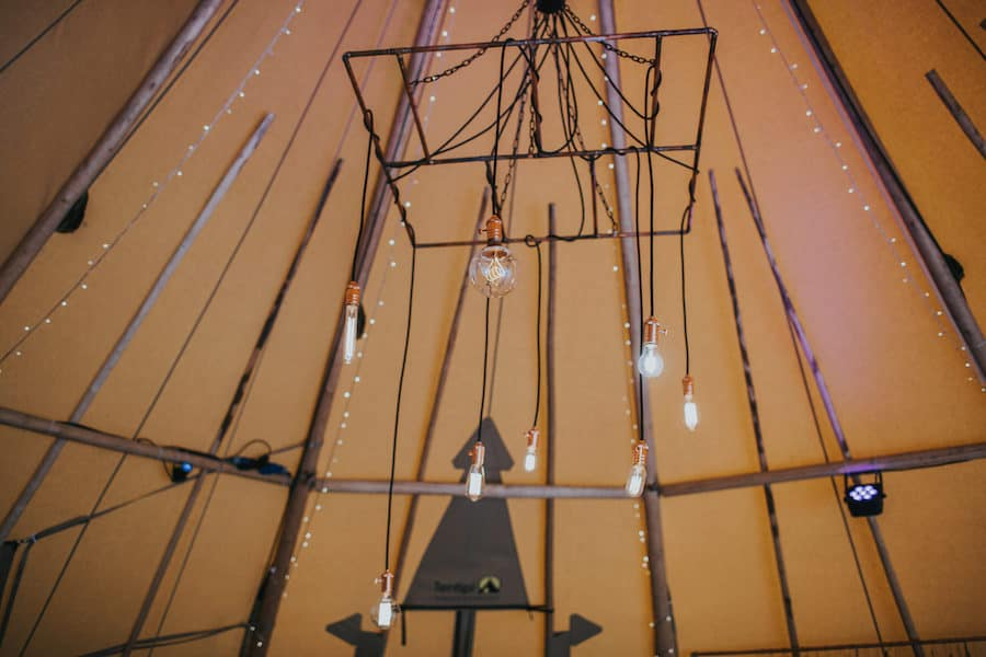 Copper Chandelier - Sami Tipi Showcase captured by Ed Brown Photography