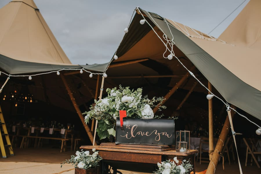 Ps I love You tipi entrance - Sami Tipi Showcase captured by Ed Brown Photography