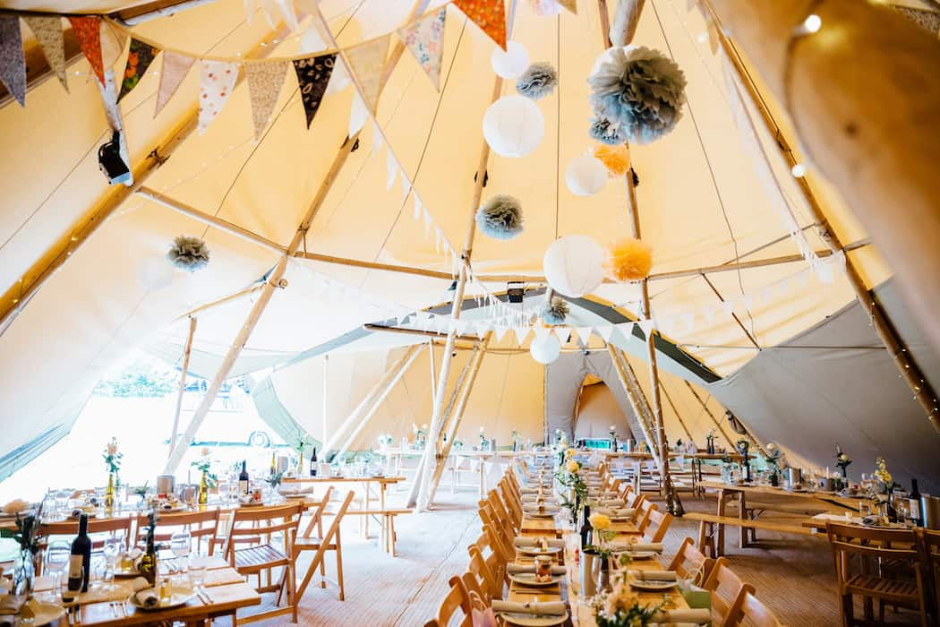 Hayley & Chris's Sami Tipi Wedding captured by Humpston & Bull241