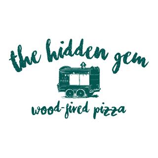 hidden gem pizza logo