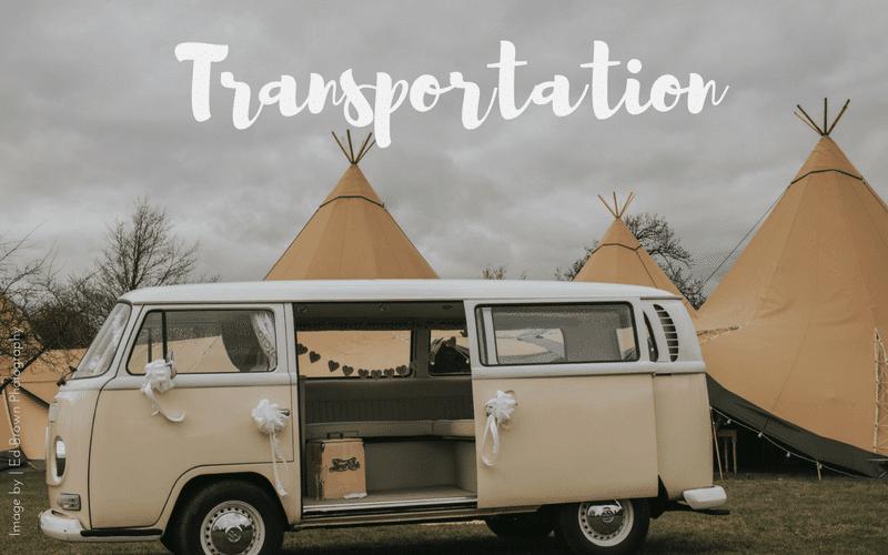 Wedding Transportation Midlands Area