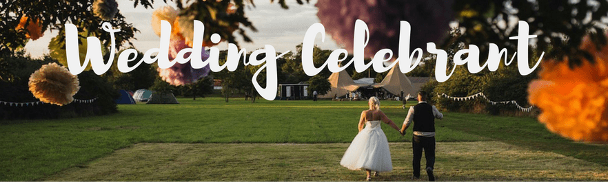Wedding Celebrant helping you to have your own outdoor wedding