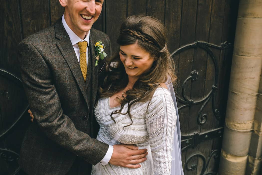 Church Wedding - Sami Tipi Wedding at Bawdon Lodge Farm captured by Matt Brown Photography