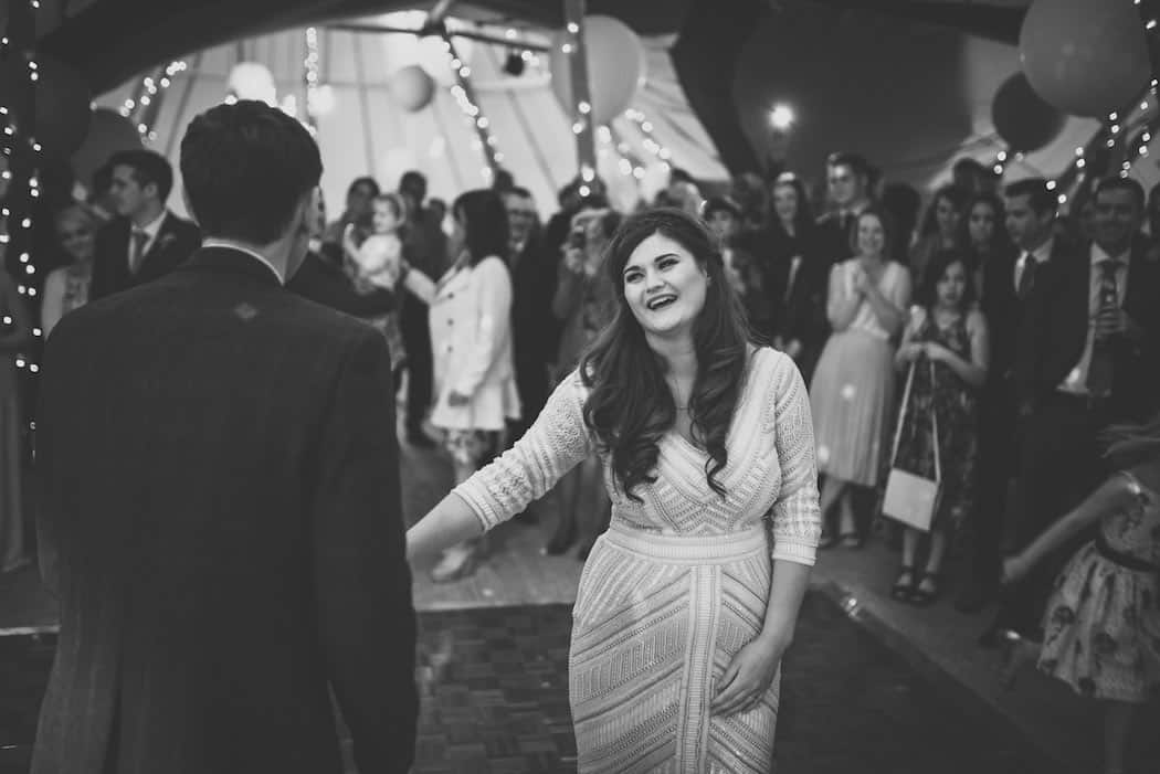 First Dance - Sami Tipi Wedding at Bawdon Lodge Farm captured by Matt Brown Photography
