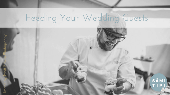 Feeding Your Guests For An Outdoor Wedding