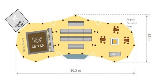 Show offer floor plan
