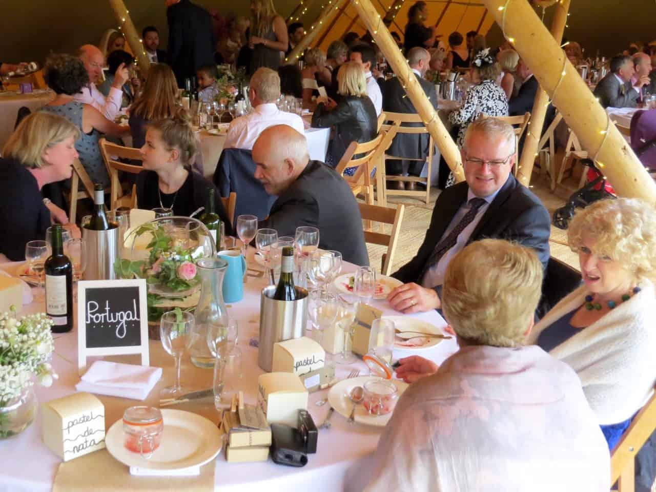 Rob & Leahs 4 peak sami tipi wedding