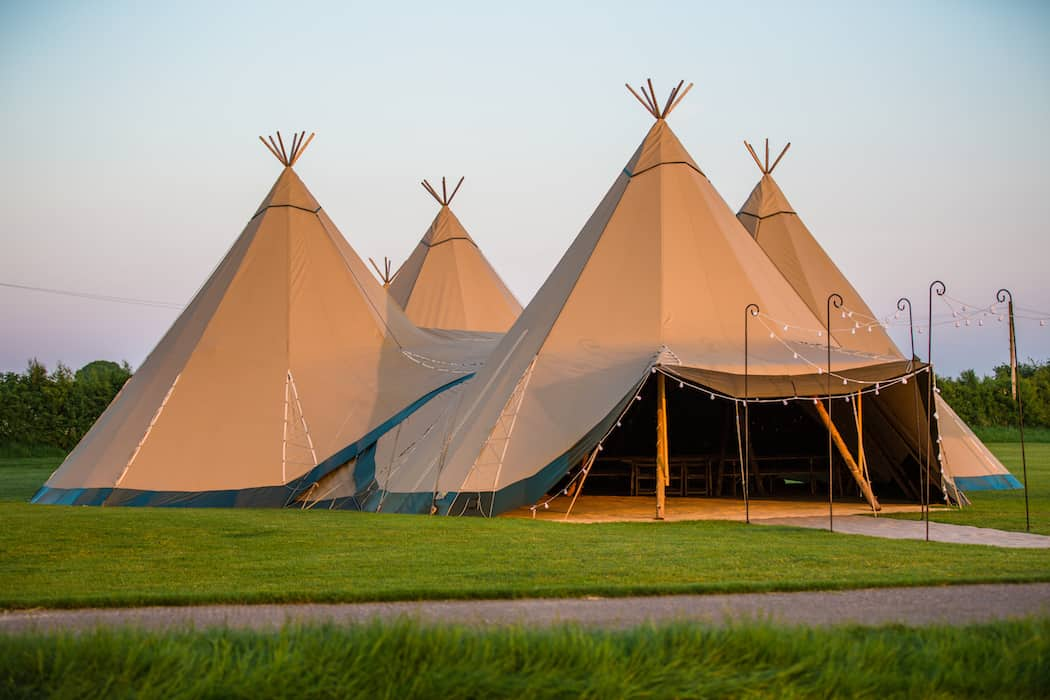 4 Giant Hat with Chill-Out Tipi Set up by Chris Terry 2