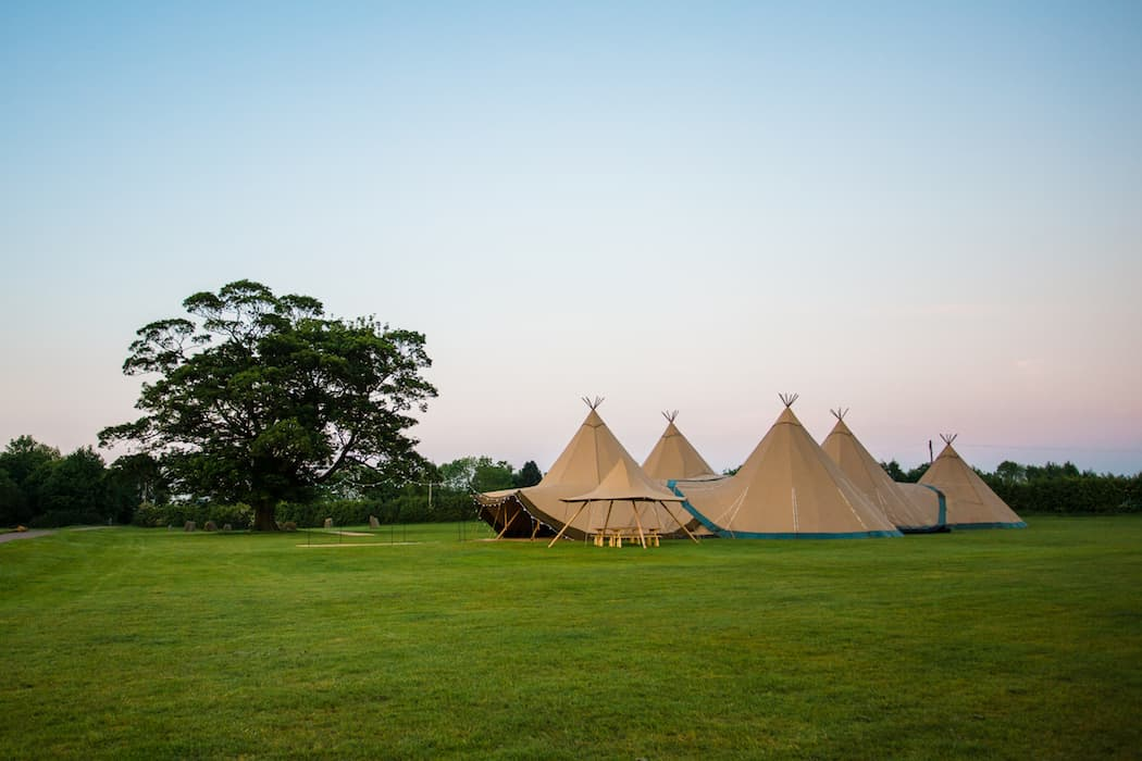 4 Giant Hat with Chill-Out Tipi Set up by Chris Terry 22