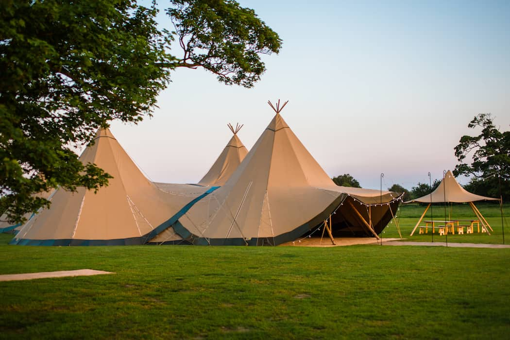 4 Giant Hat with Chill-Out Tipi Set up by Chris Terry 7