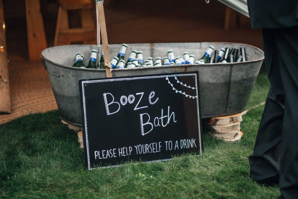 Booze Bath - help yourself