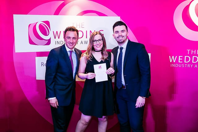 The Rustic Wedding Company wins highly commended at The Wedding Industry Awards