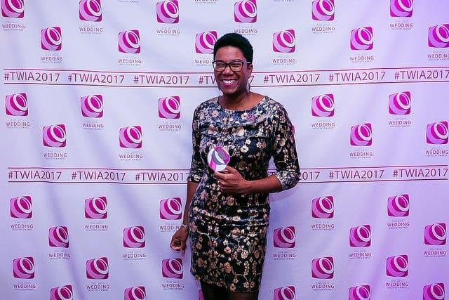 Benessamy Events wins Best Wedding Planner The Wedding Industry Awards