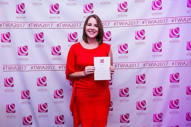 Natalie Hewitt awarded Highly commended for Best Wedding Planner