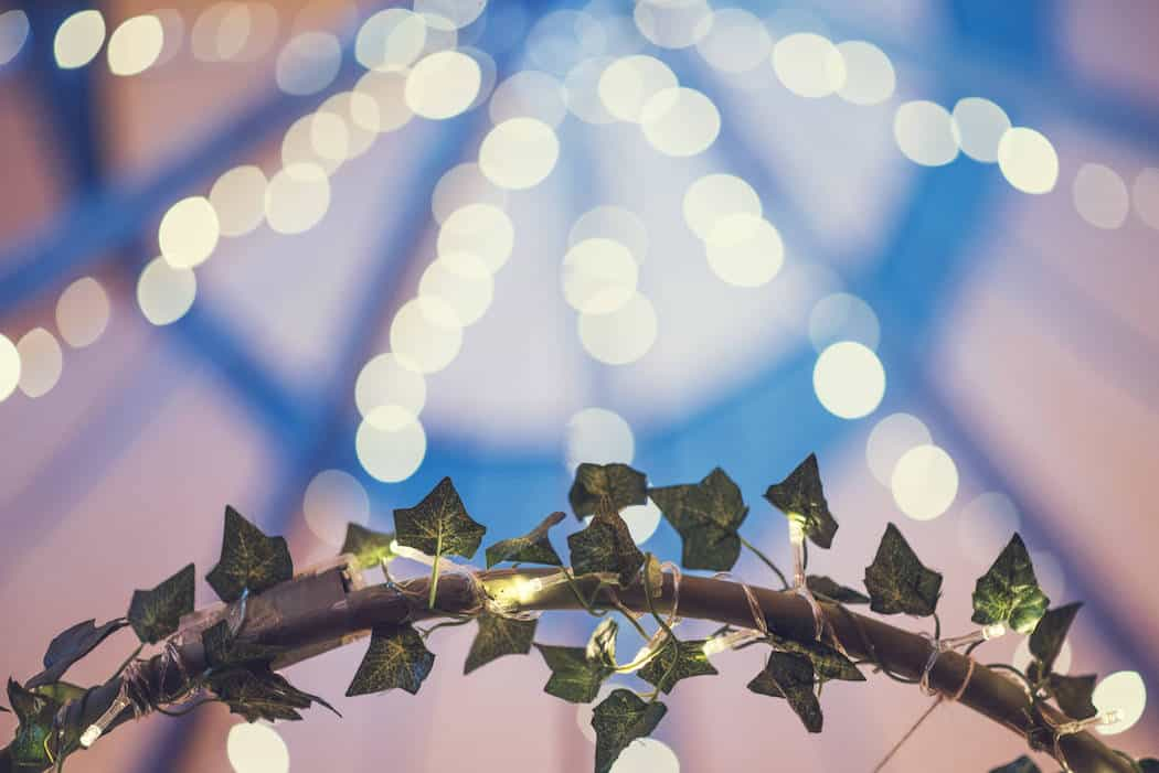 tipi twinkly fairy lights - Victoria & Adams Sami Tipi Wedding at Bawdon Lodge Farm, Captured by Thomas & Thomas