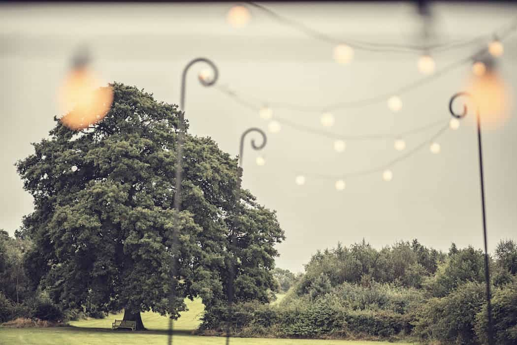 Giant festoon walkway - Victoria and Adams Sami Tipi Wedding at Bawdon Lodge Farm, Captured by Thomas & Thomas