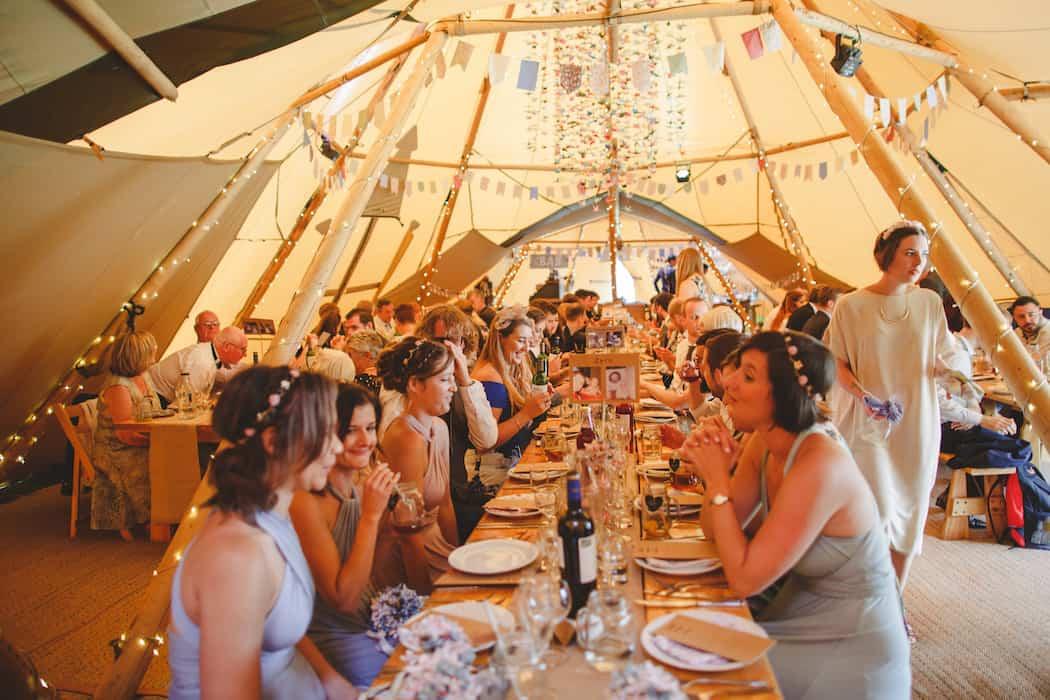 Tom and Ellie's Sami Tipi Wedding at Shingford Manor Derbyshire captured by Camera Hannah