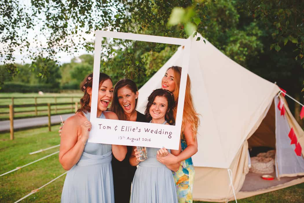 homemade photo booth Tom and Ellie's Sami Tipi Wedding at Shingford Manor Derbyshire captured by Camera Hannah