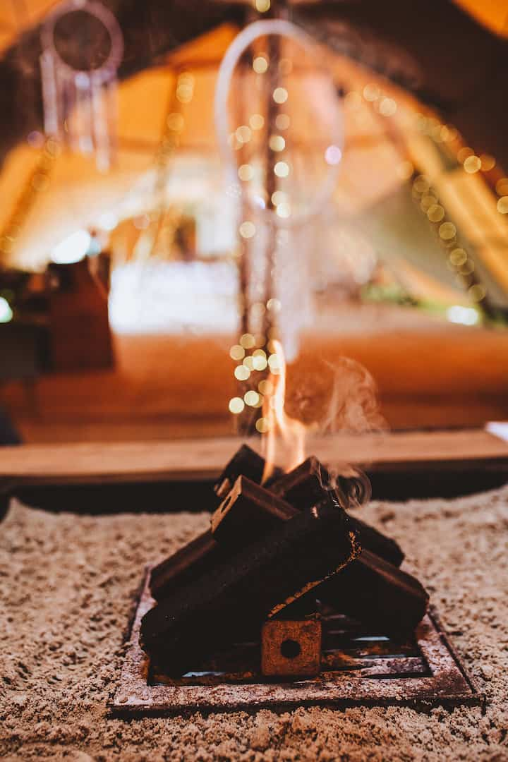 indoor fire pit - Sami Tipi Your Event Your Way