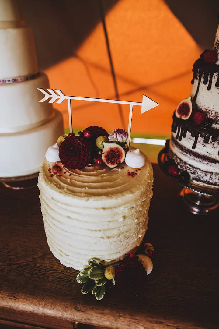 Boho Wedding Cake - Sami Tipi Your Event Your Way