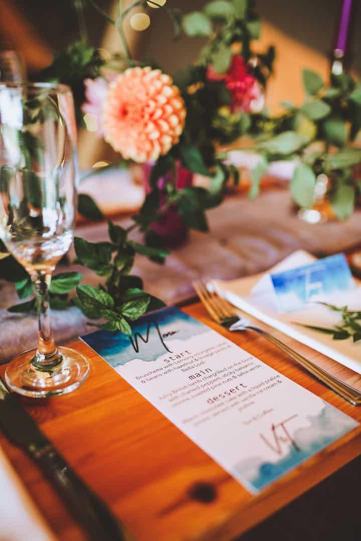 Boho Wedding Stationery - Sami Tipi Wedding