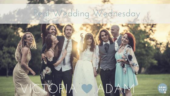 Real Wedding  – Victoria & Adam