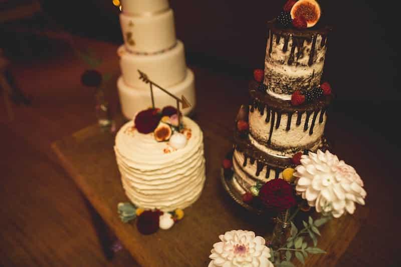 Wedding Cake Table | Sami Tipi | Hall Hall Photography