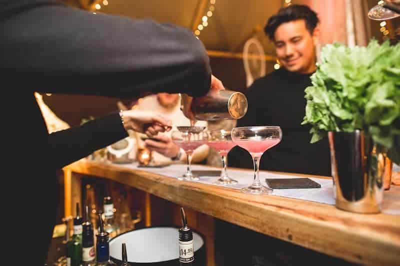 Mambo Mobile Bars cocktails | Sami Tipi | Hall Hall Photography