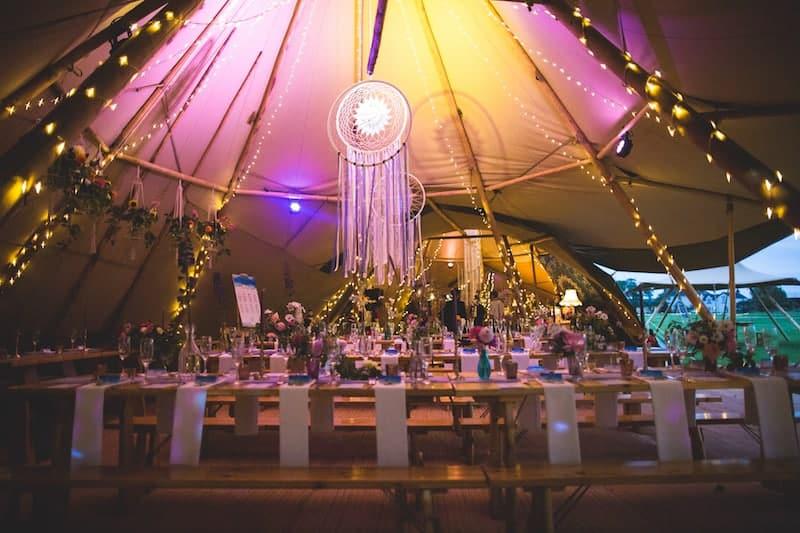 Sami Tipi Wedding Styling | Sami Tipi | Hall Hall Photography