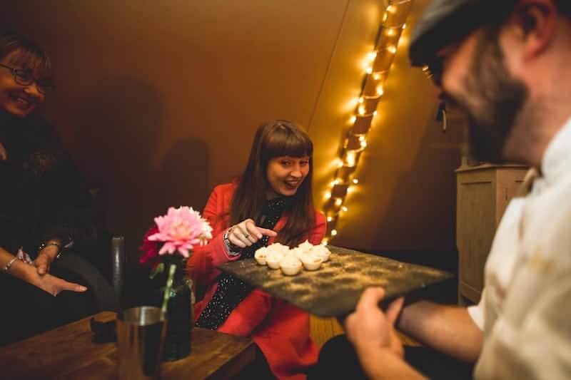 Thomas The Caterer Taster Evening | Sami Tipi | Hall Hall Photography
