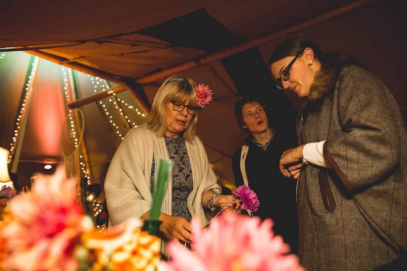 Flower Crown Making | Sami Tipi | Hall Hall Photography