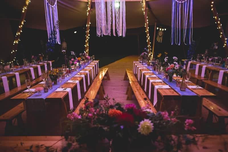 Tipi Table Styling | Sami Tipi | Hall Hall Photography