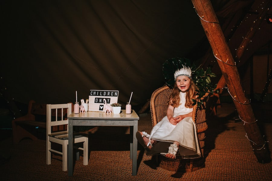 Children Only | Sami Tipi| Styled by Tickety Boo Events | Image by Ed Brown Photography