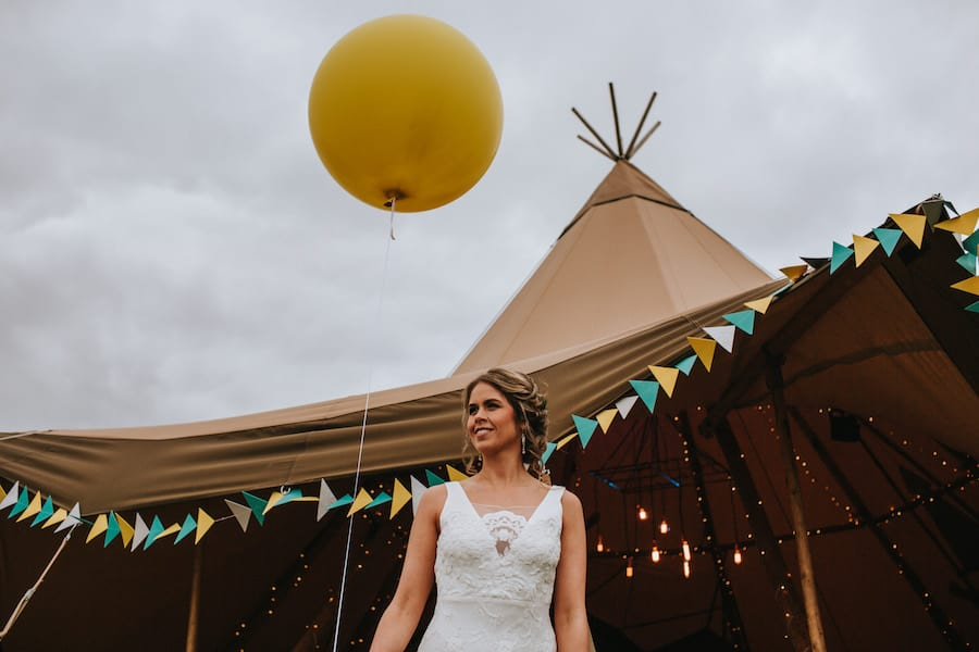 Giant Hat Tipi | Sami Tipi| Styled by Tickety Boo Events | Image by Ed Brown Photography
