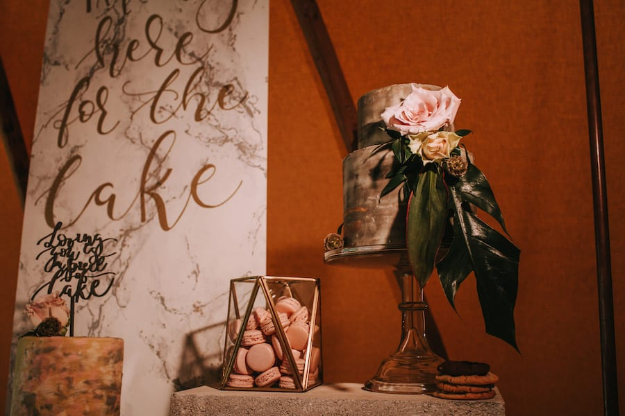 Marbled cake by YLC | Sami Tipi| Styled by Tickety Boo Events | Image by Ed Brown Photography