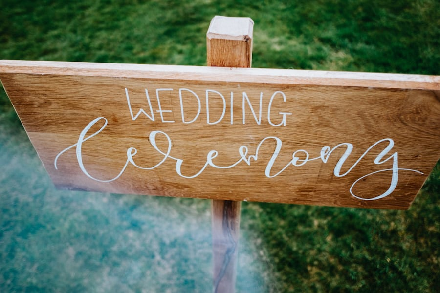 Wedding Ceremony|Styled by Tickety Boo Events | Image by Ed Brown Photography