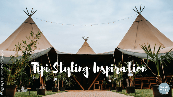 Scandi meets Tropical Tipi Styling Inspiration