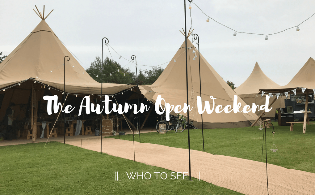 Autumn Open Weekend – Who To See