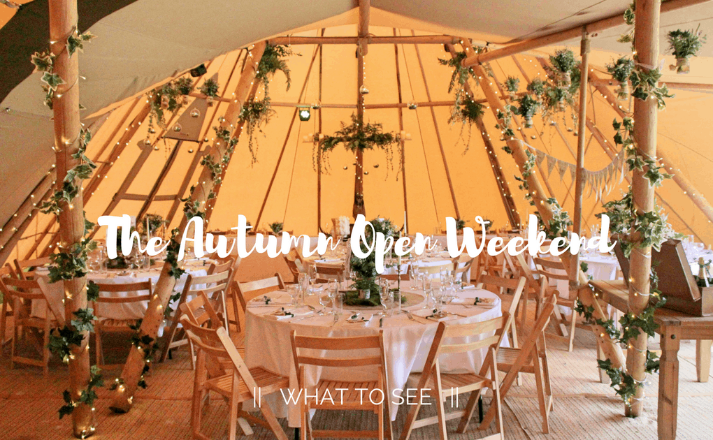 The Rustic Wedding Company | Sami Tipi Autumn Open Weekend 2017