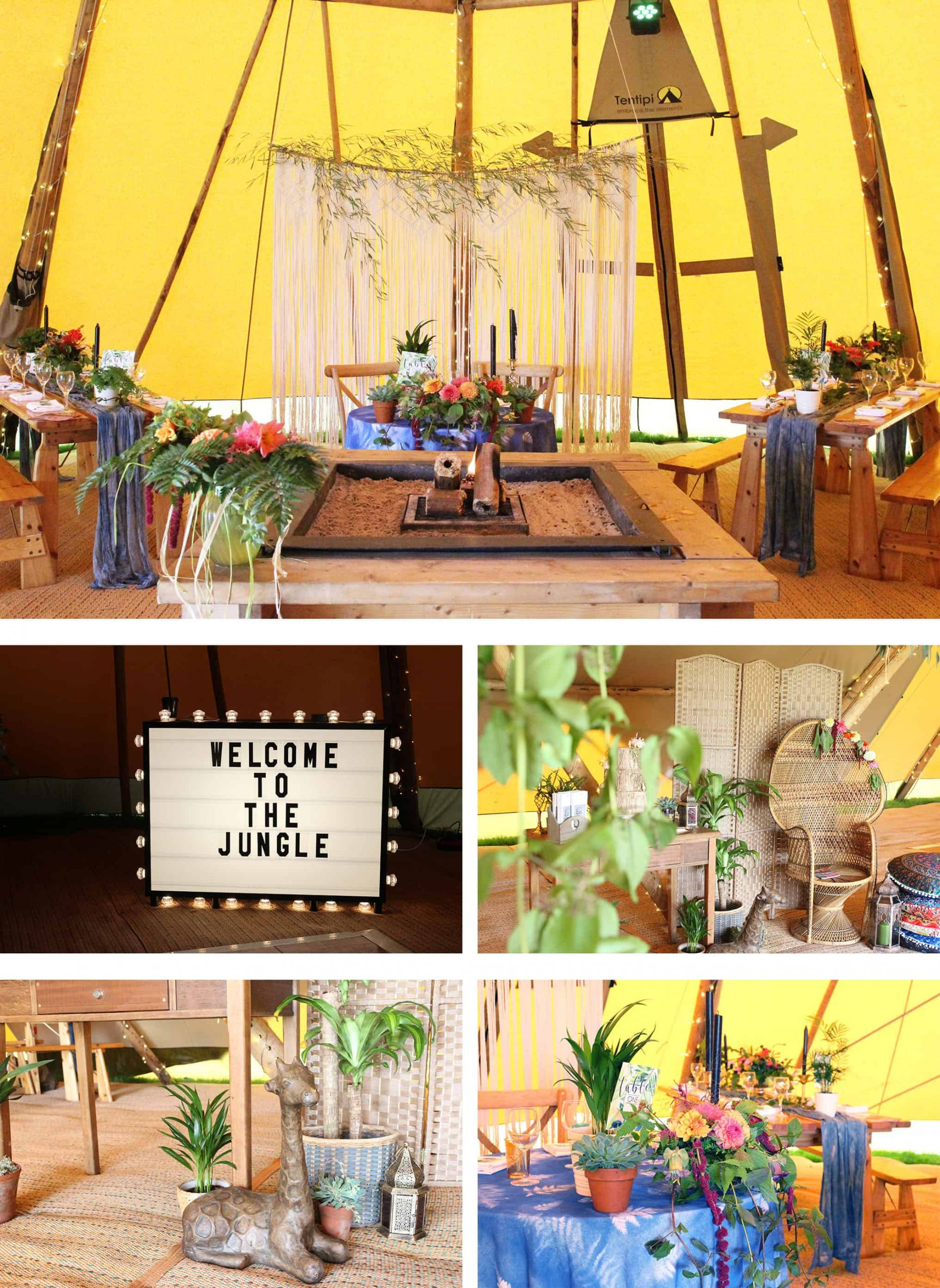 unique tipi styling ideas