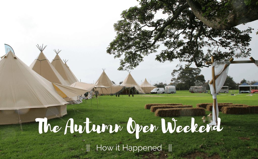 Autumn Open Weekend – How it Happened