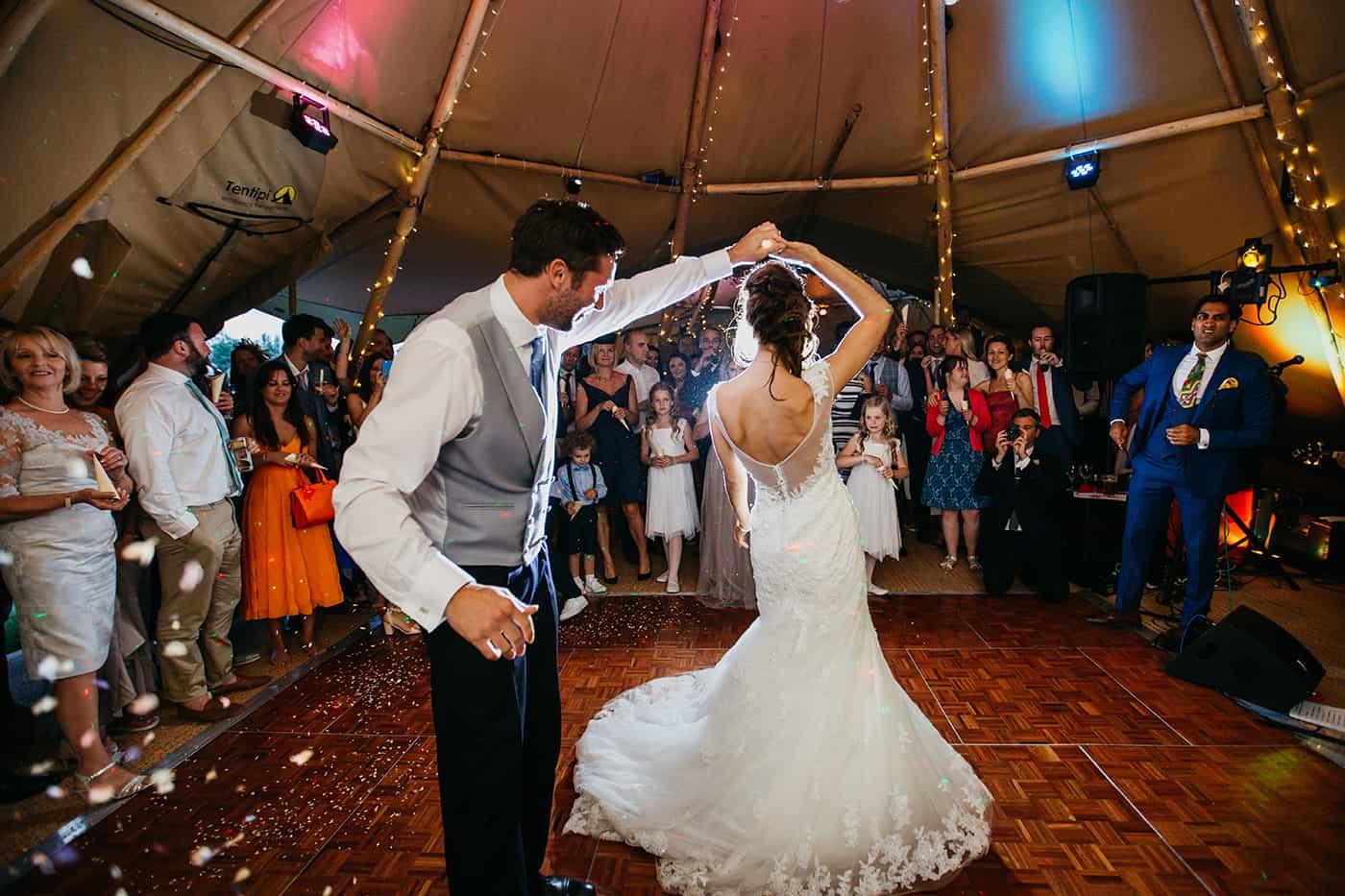 Glamorous Tipi Wedding