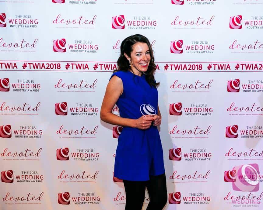 Wedding Industry Awards Tipi Winner